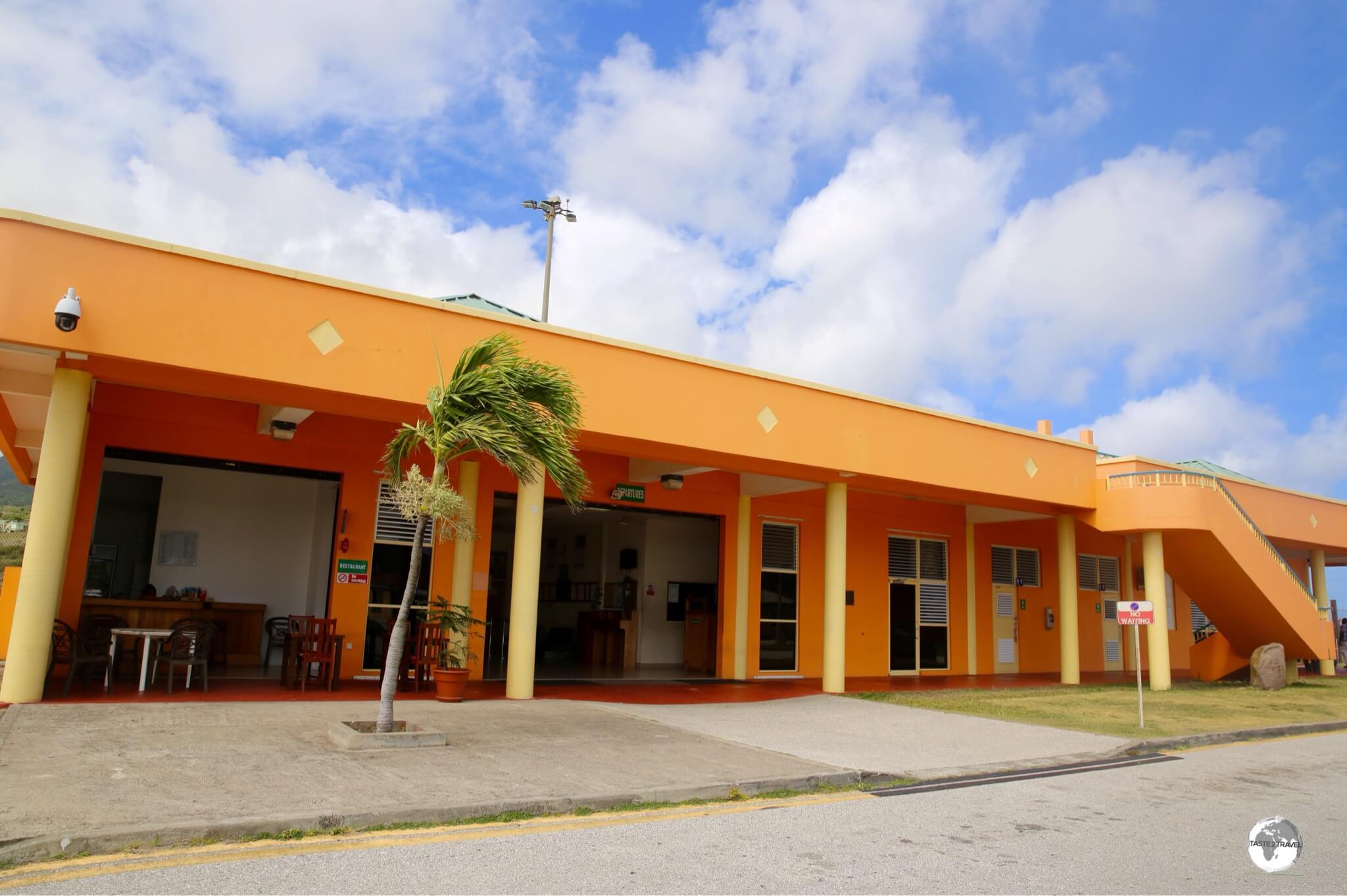 John A. Osborne Airport on Montserrat.