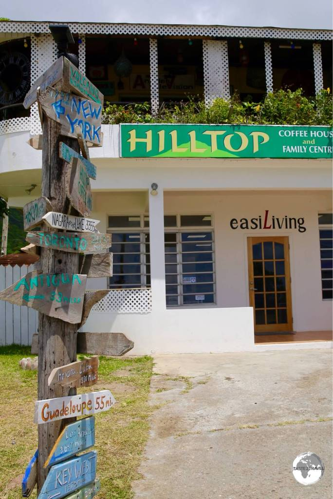 Located on Fogarty Hill, the not-for-profit Hilltop Coffee Shop is the best place to gain an understanding of Montserrat from its enthusiastic proprietor.