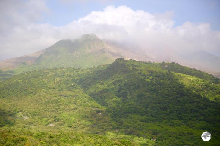 The Soufrière Hills Volcano is very shy and normally shrouded in cloud and, due to ongoing activity, access anywhere near it is strictly prohibited.