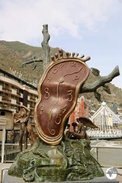"""""""La Noblesse du Temps"""" by Salvador Dalí."""