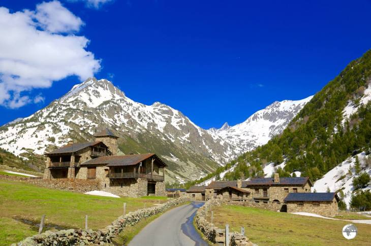 The picture-postcard perfect Vall d'Incles.