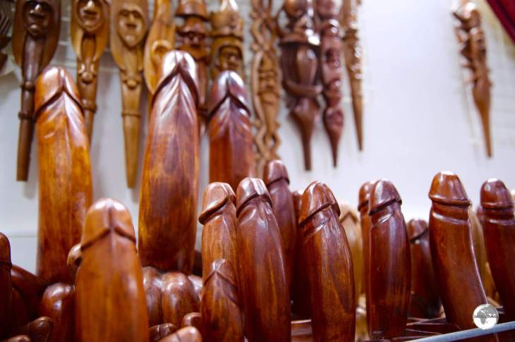 Of symbolic importance in the Kanak culture and today a popular souvenir item.