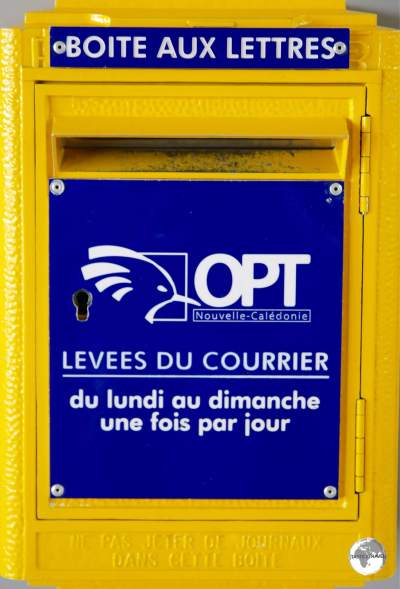 Postal services in New Caledonia are provided by Office des Postes et Télécommunications (OPT).