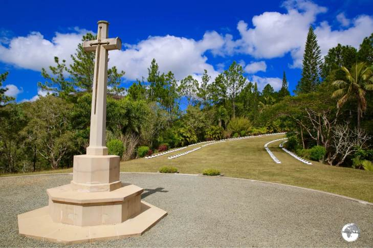 Located south of Bourail, the New Zealand WWII cemetery is the final resting place for 200 Kiwi soldiers killed in the Pacific war.
