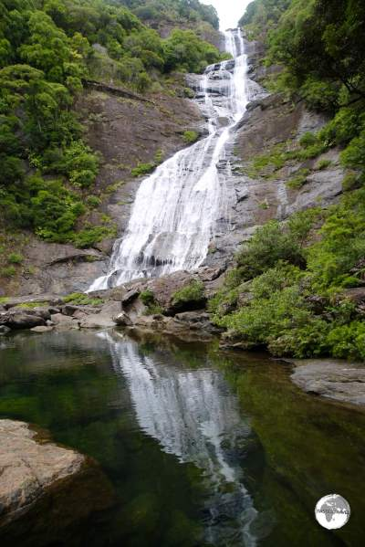 Cascading 100 metres, 'Cascade de Tao' is the highest waterfall in New Caledonia.