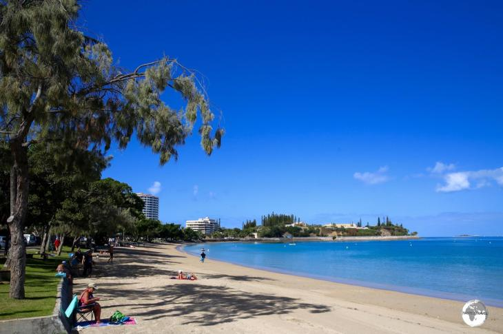 Baie des Citrons is one of the most popular beaches in Noumea.