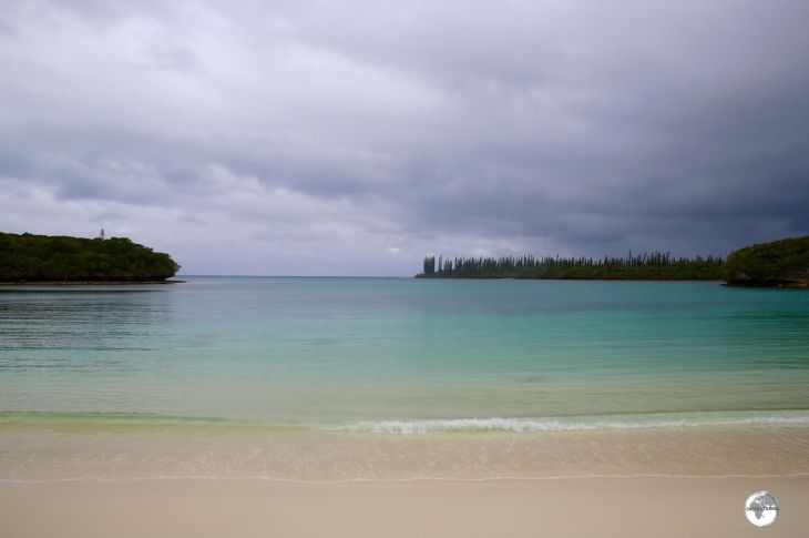 New Caledonia Travel Guide: The beautiful Kanumera Bay on the Isle of Pines.