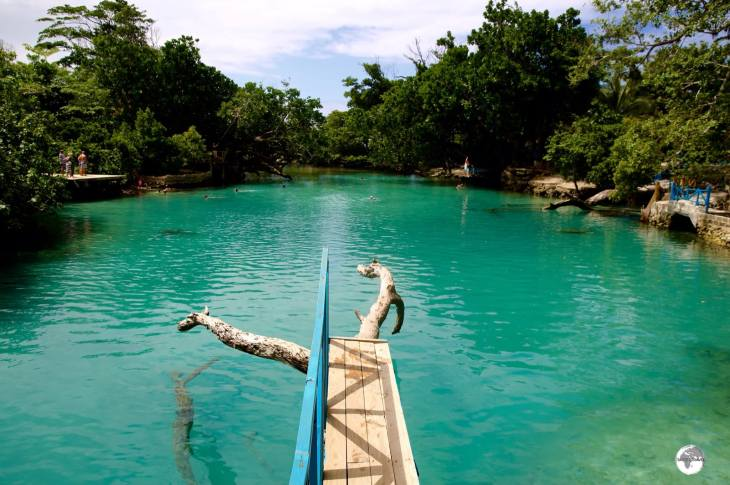 Blue Lagoon is a protected salt-water inlet.
