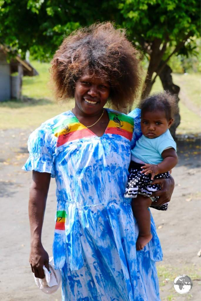 No such thing as a 'bad hair day' on Vanuatu.