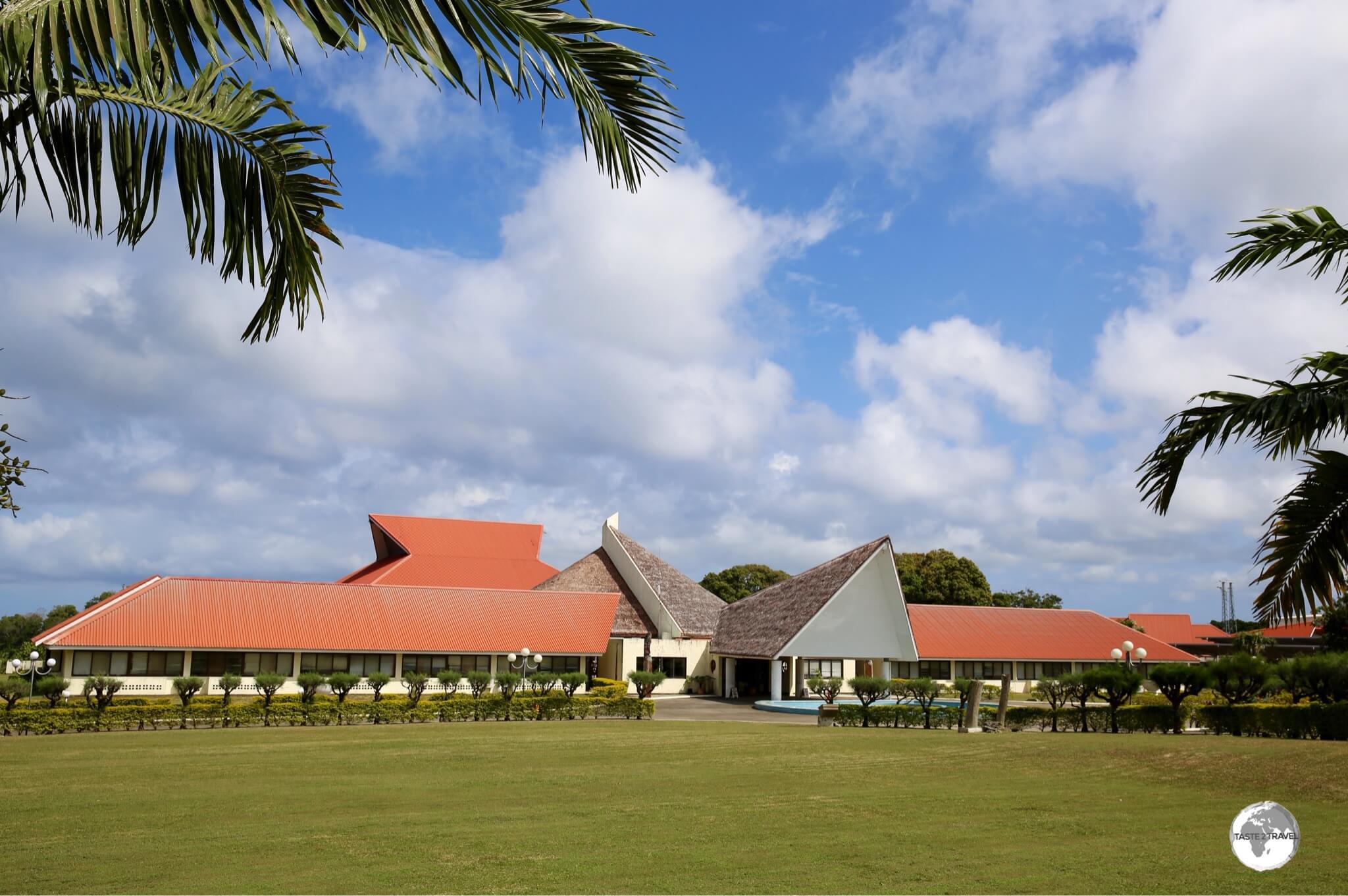 Vanuatu Parliament House in Port Vila.