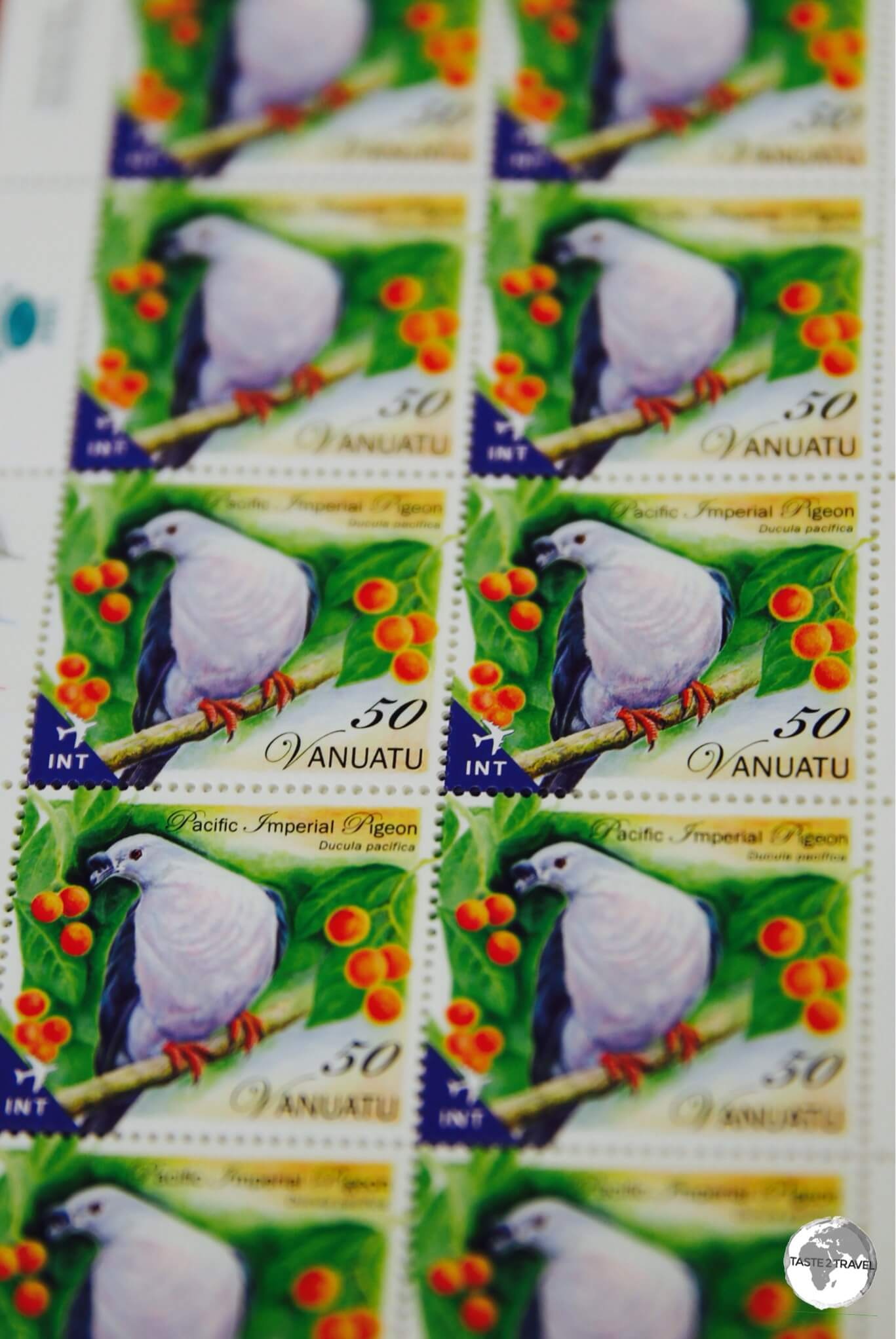 Stamps from Vanuatu feature local fauna and flora.