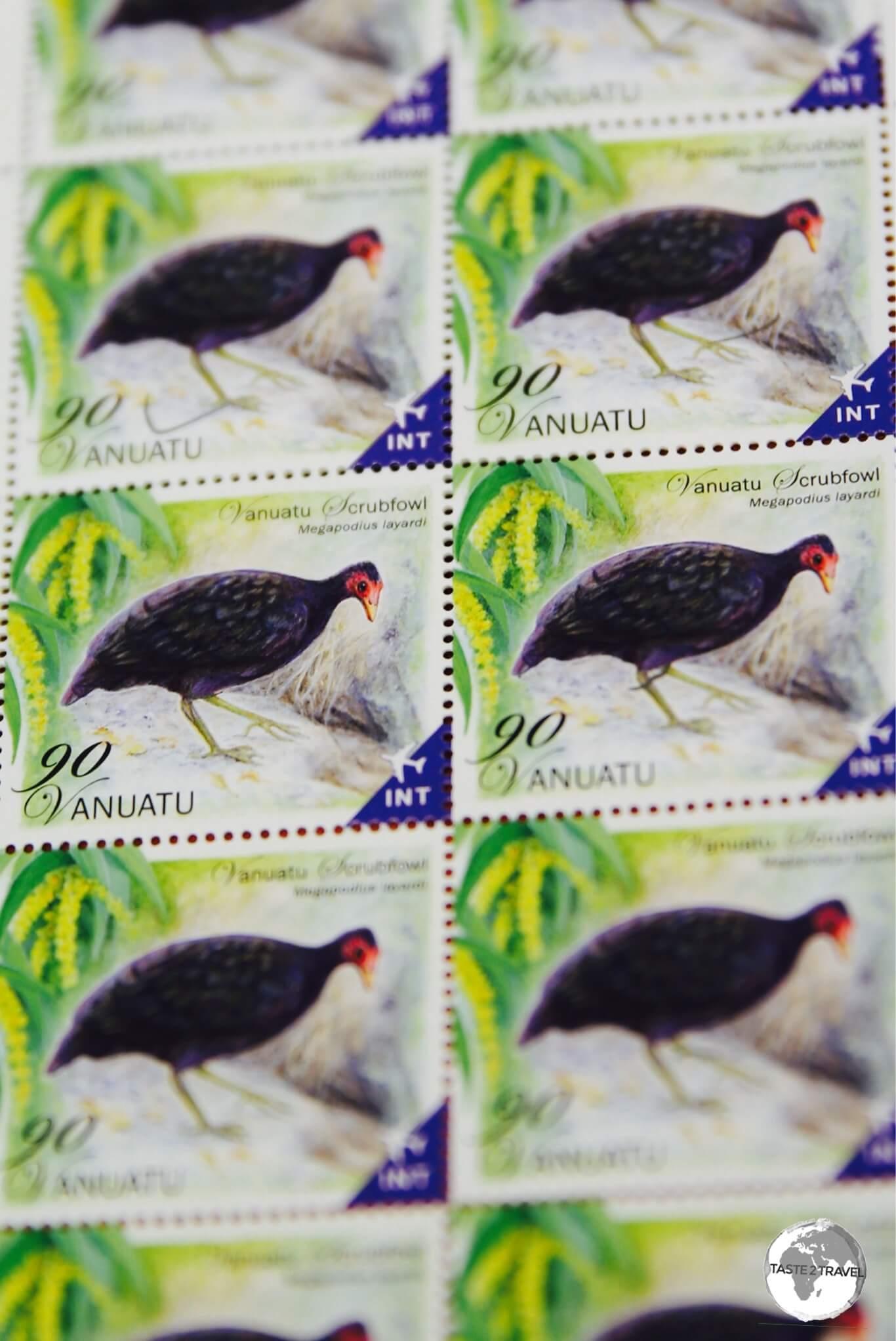 Vanuatu stamps are popular among philatelists.