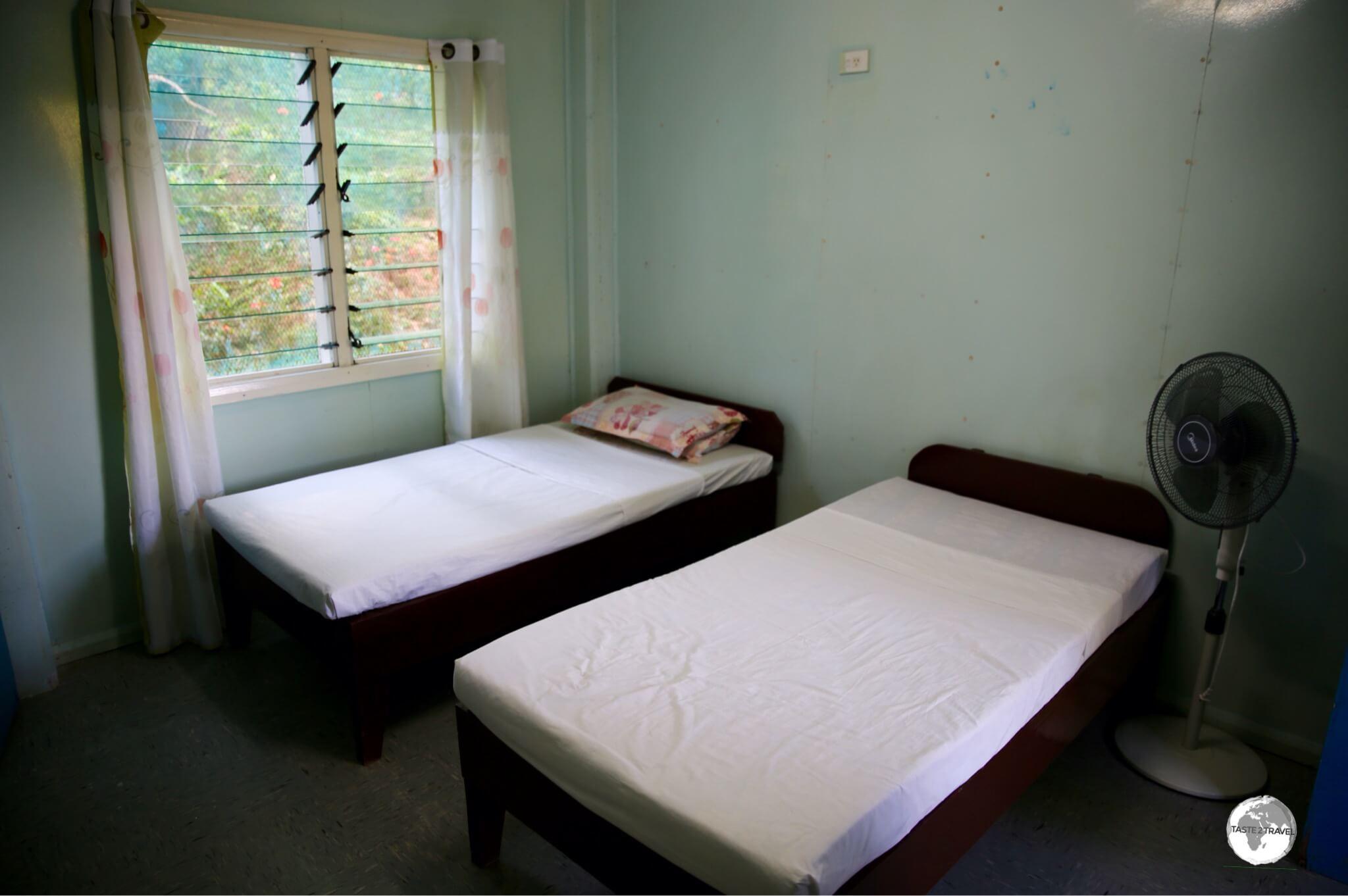 A budget room at Rekona Lodge.