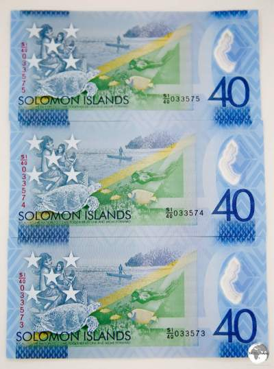 A limited edition SI$40 polymer note was released to commemorate 40 years of independence in 2018.