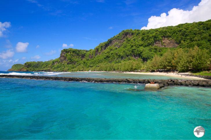 A view of Ta'u island.