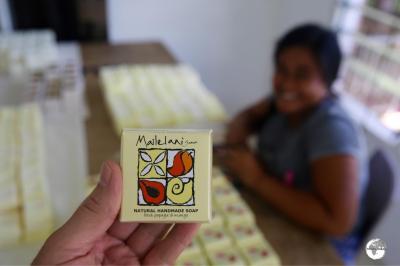 Mailelani Samoa soap.