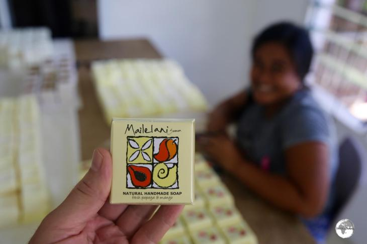 Mailelani Samoa soap direct from the factory.