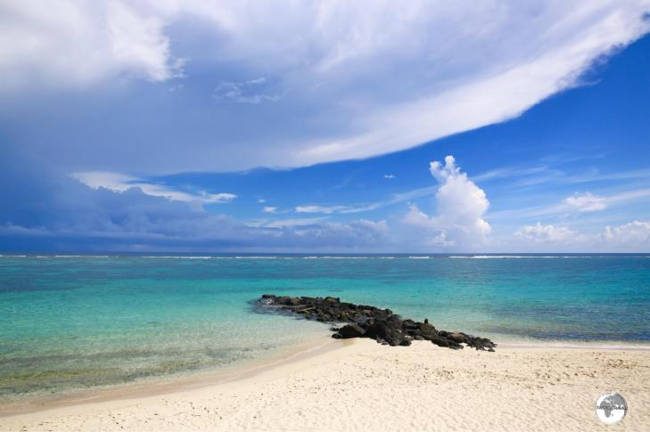 Vaisala beach on the north coast of Savai'i.