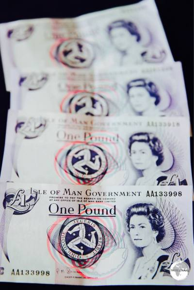 Unlike the mainland, the Crown Dependencies still use £1 notes.