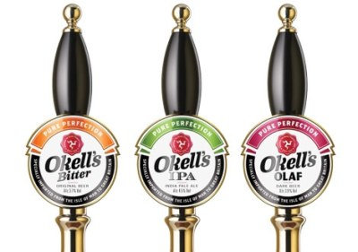 Three of Okell's regular beers. Source: Okells.im