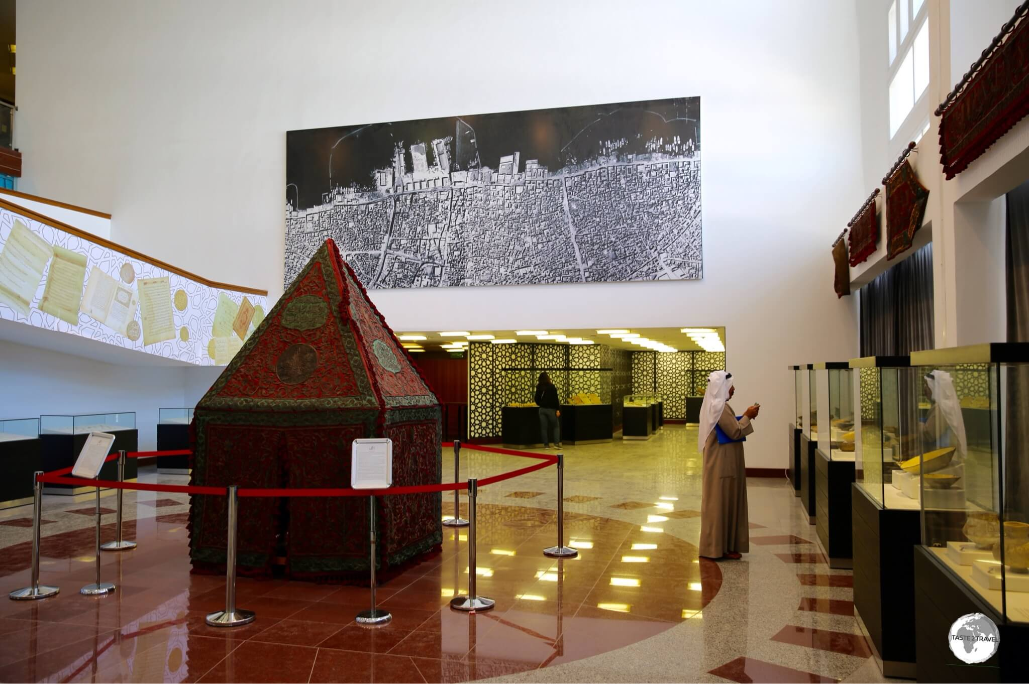A gallery at the Kuwait National Museum.