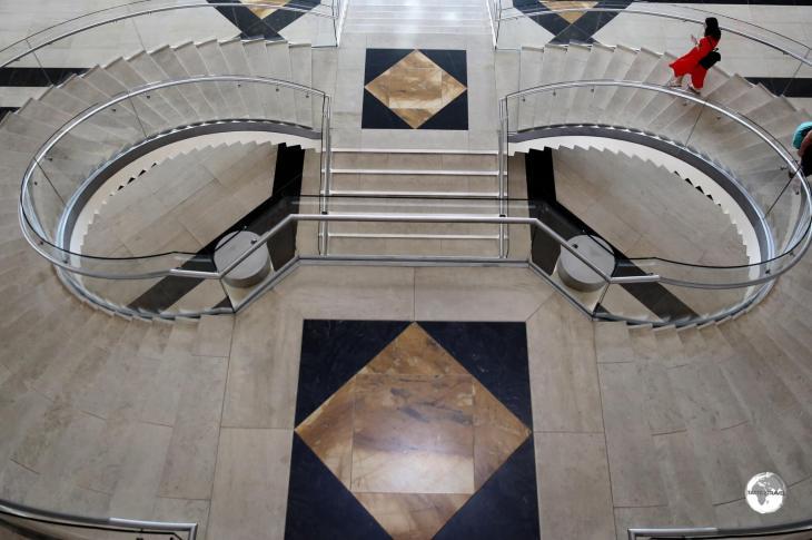 IM Pei has created perfectly symmetrical spaces throughout the MIA.
