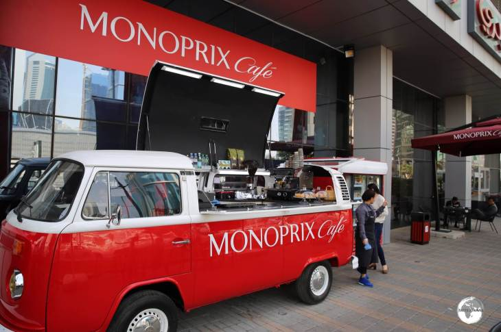 The Monoprix cafe in the city centre offers good, affordable coffee.
