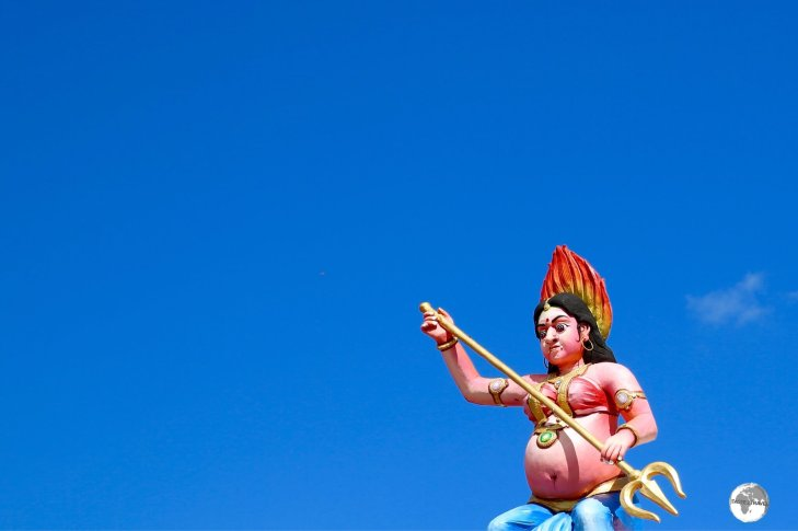 With Indians comprising the majority of the population, Hinduism is the major religion of Mauritius.