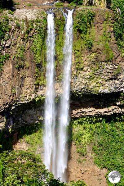 At 100 metres, the spectacular Charmarel falls are the tallest single-drop waterfall on Mauritius.
