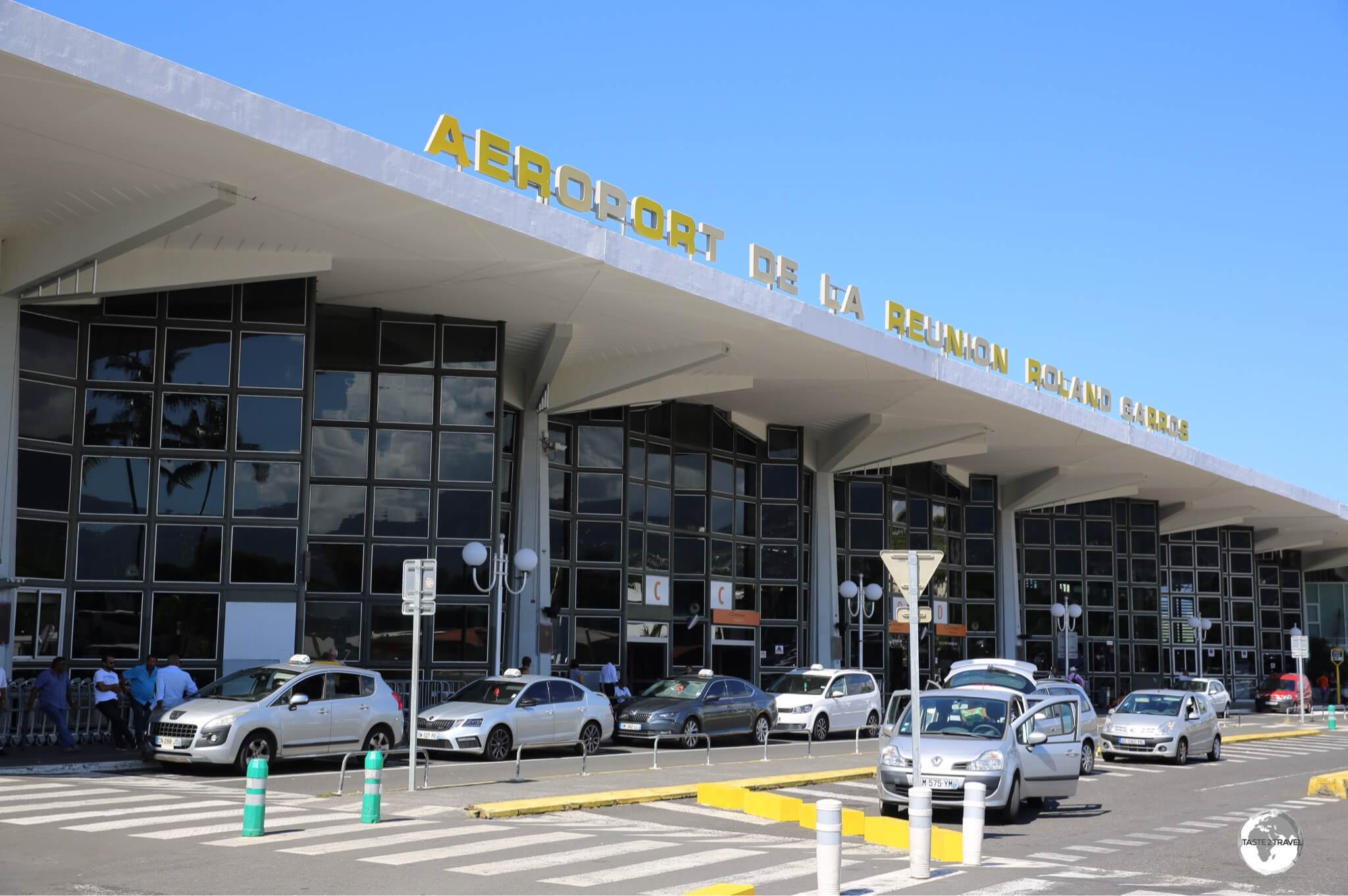 Roland Garros Airport is the international gateway to Réunion.
