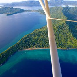 View of Mayotte from my Ultralight flight.