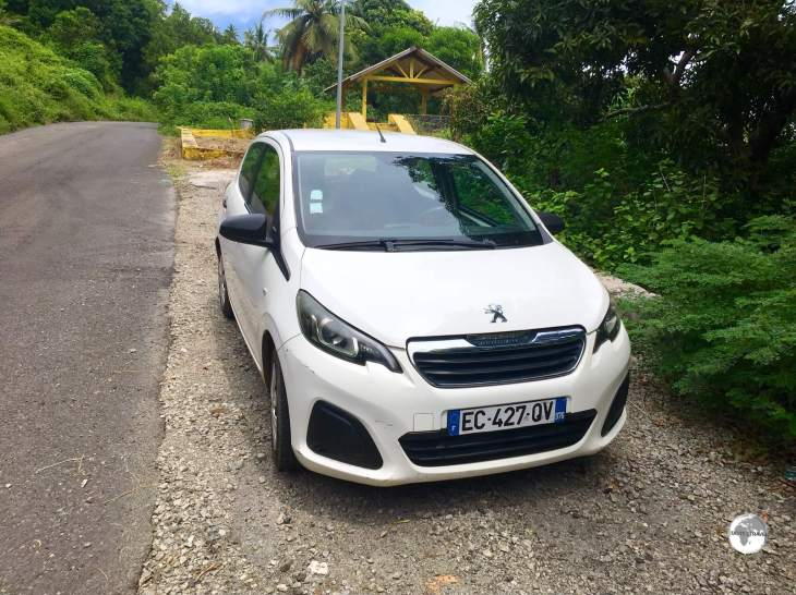 A rental car is the best way to explore Mayotte.