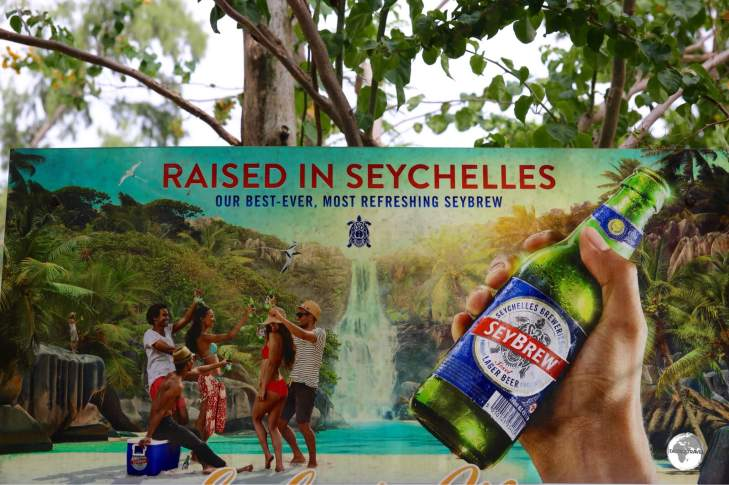 SeyBrew lager is the #1 selling beer in the Seychelles.