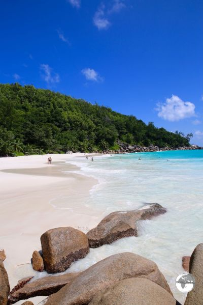 The secluded and beautiful Anse Georgette is a worthwhile destination at the end of the road on the north coast of Praslin.