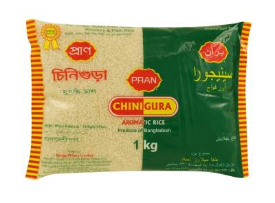 Light and fluffy, the short-grain Chinigura rice is the national rice of Bangladesh.