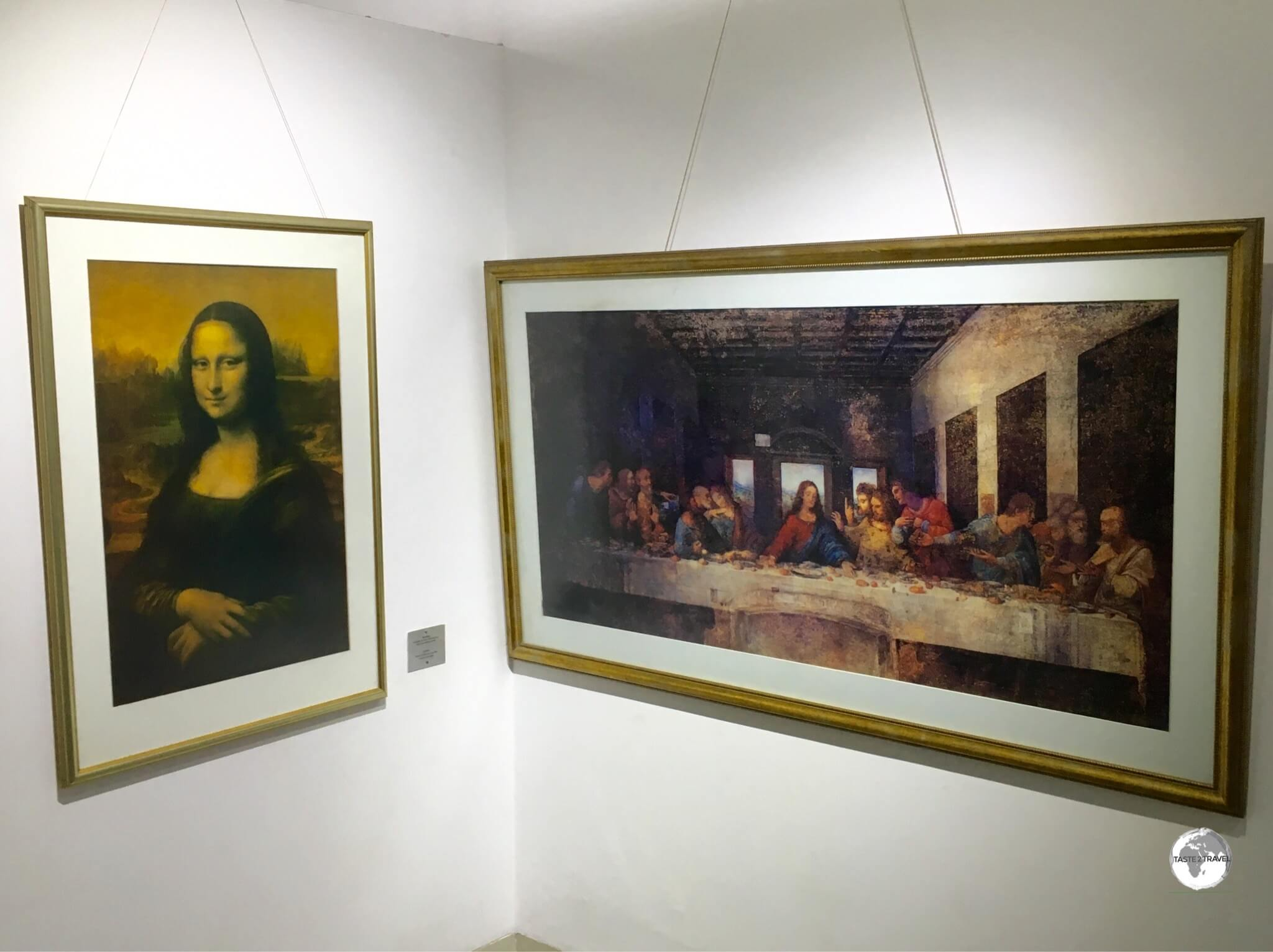 Where else in the world can you view the Mona Lisa alongside the Last Supper?