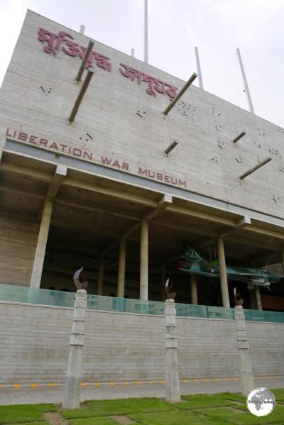 The Liberation War Museum depicts the struggle for independence.
