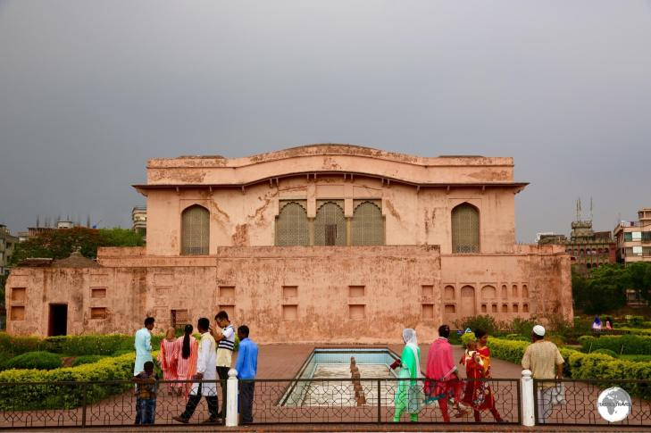 The Hall of Audience at Lalbagh Fort houses a small museum.