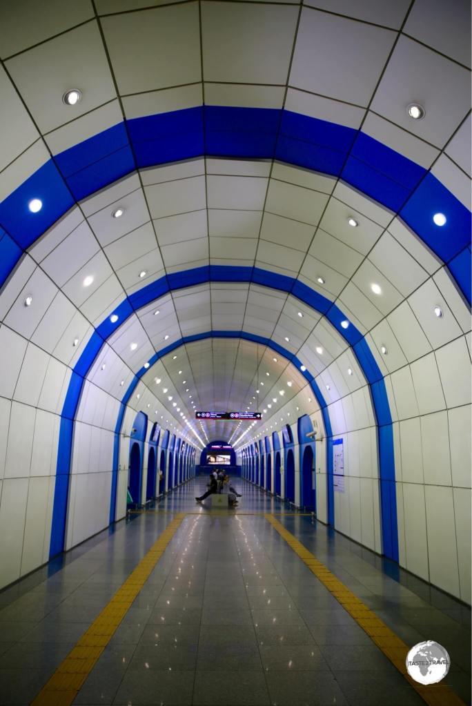 Baikonur station.