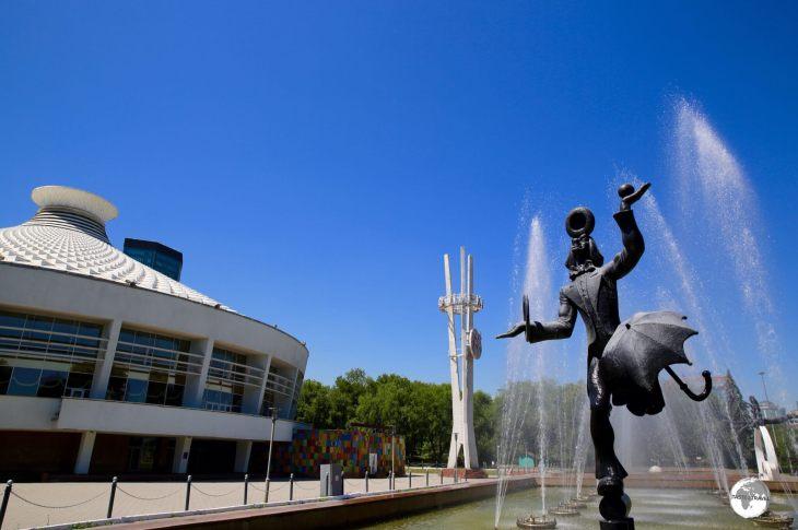 The Kazakh State Circus.
