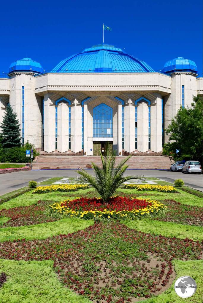The Central State Museum of Kazakhstan is the main museum in Almaty.