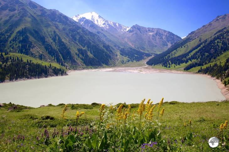 Big Almaty lake is best visited on a clear day.