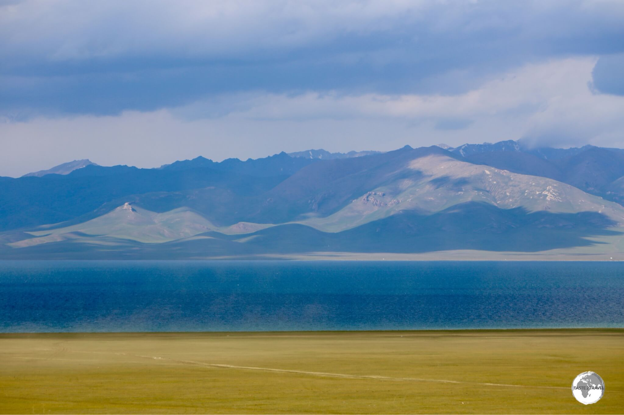 The mesmerisingly beautiful Lake Son-Kul lies at 3,006 metres in a very remote part of the country.