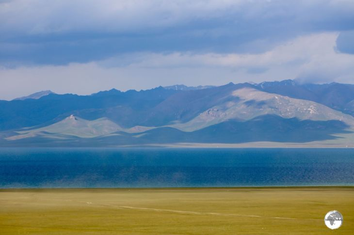The mesmerisingly beautiful Lake Son-Kul lies at 3,006 metres and is only accessible during the warmer months.
