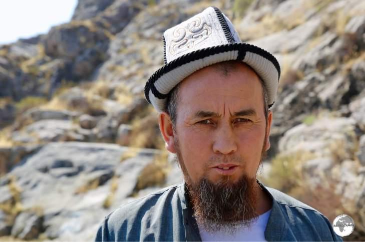 The felt Kalpak, or Ak Kalpak, is worn by Kyrgyz men as part of their everyday wardrobe.