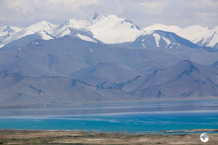 No shortage of stupendous views at Lake Karakul.