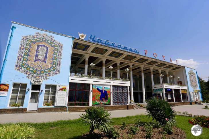 The Rohat tea-house on Rudaki avenue is said to be the largest tea-house in the world.