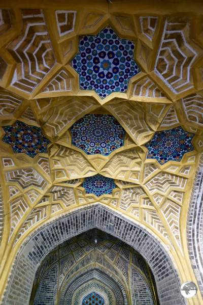 There's no shortage of incredible architecture and design in Bukhara.