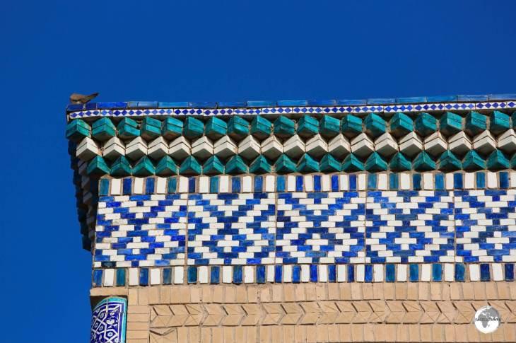 Tile-work on the Islam Khoja Madrasah.