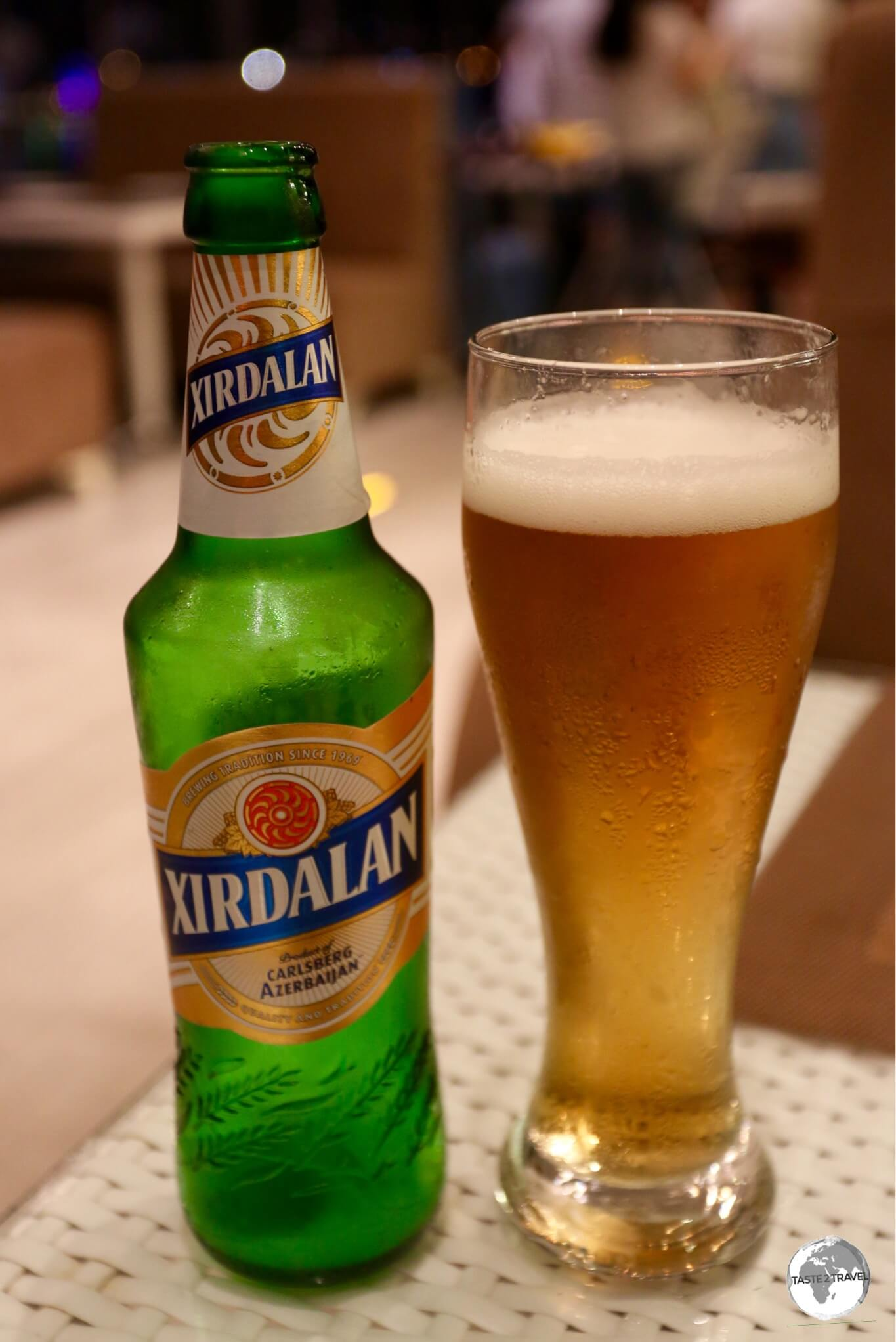 The national beer of Azerbaijan, Xirdalan is very smooth on the palette.